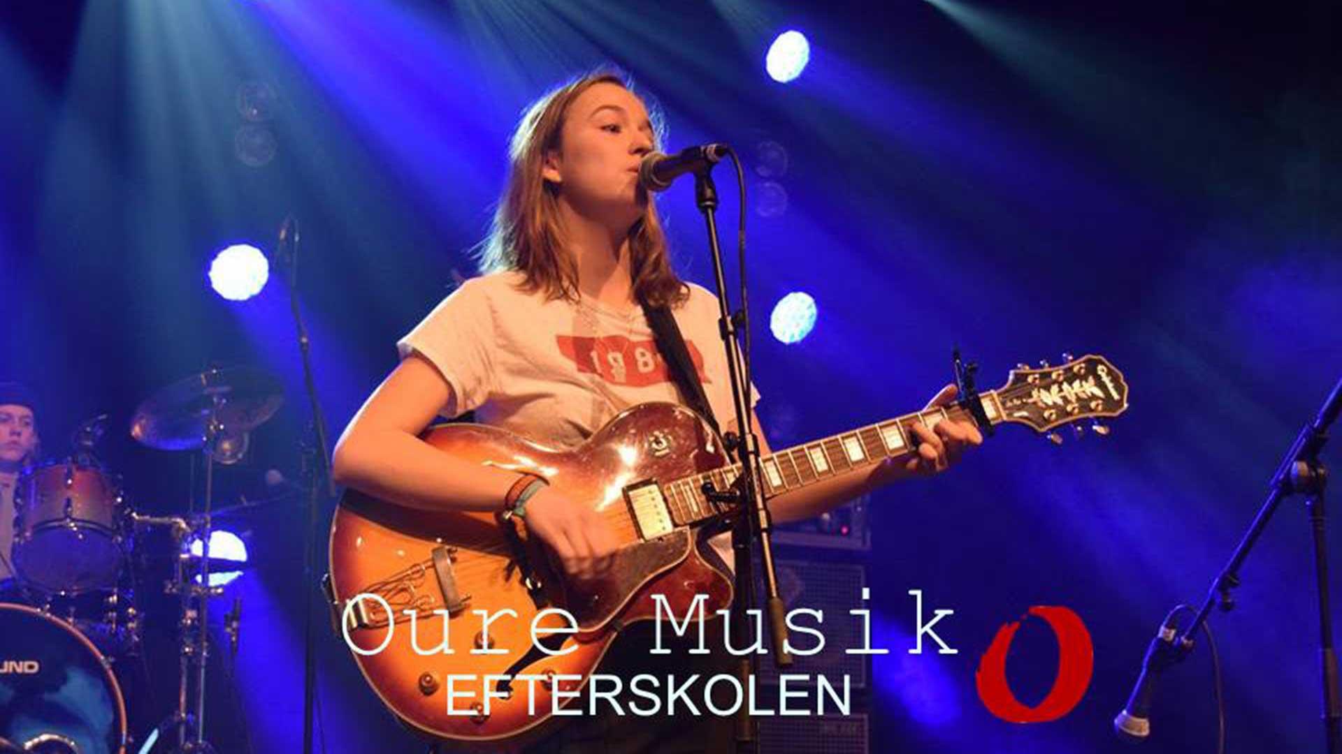 Oure Musik - Efterskolen - Koncert på Harders